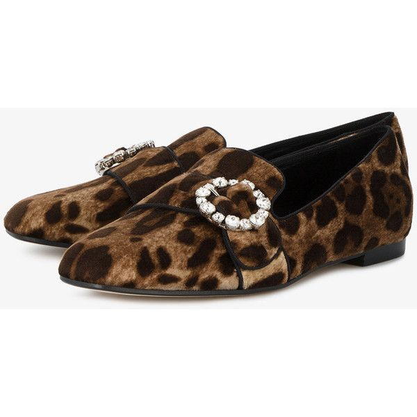leopard print loafers Dolce & Gabbana