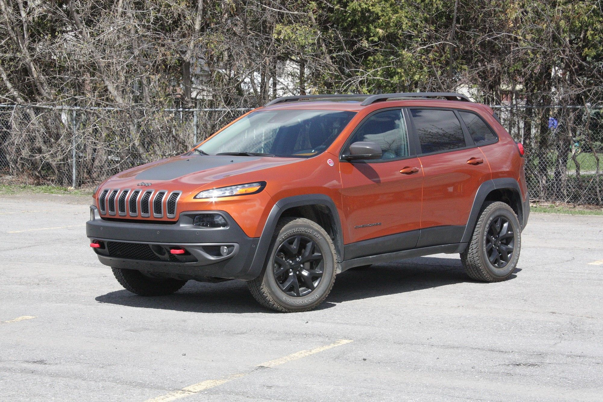 Drive 2015 Jeep Cherokee Trailhawk Review Jeep Cherokee Jeep Cherokee Trailhawk 2015 Jeep