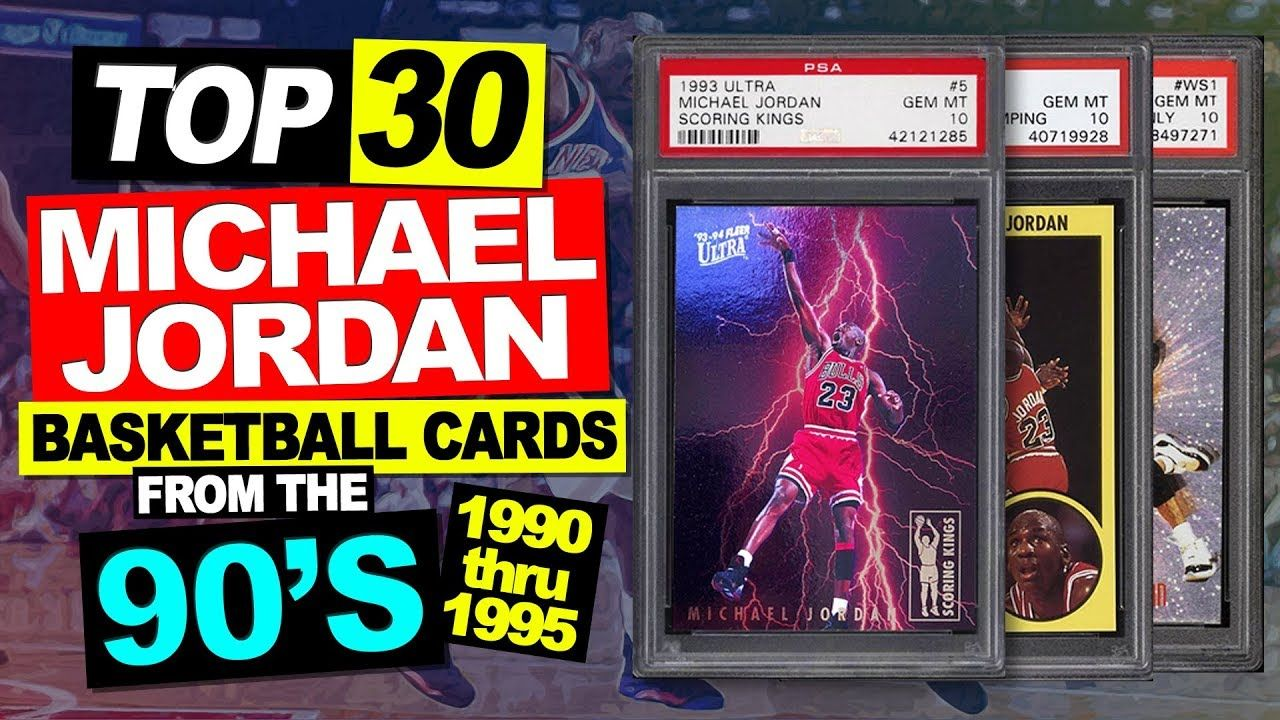 TOP 30 Michael Jordan Basketball Cards from the 90's