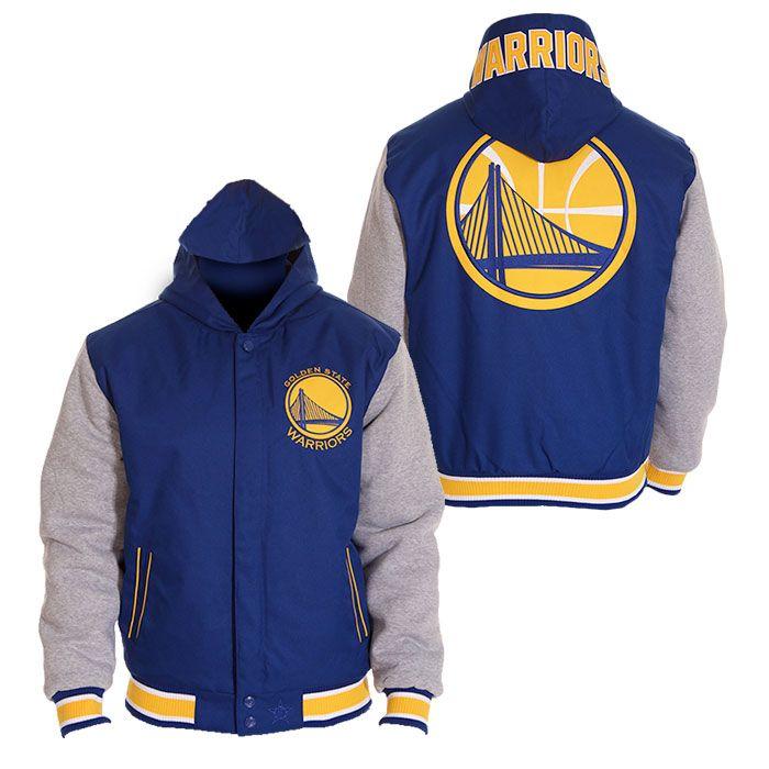 Golden State Warriors JH Design Men's Poly twill Fleece
