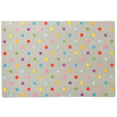 Candy Dot Rug From Land Of Nod Always Looks Great Popandlolli