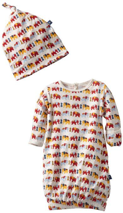 157ab230a Amazon.com  KicKee Pants Baby Boys and Girls Newborn Layette Gown ...