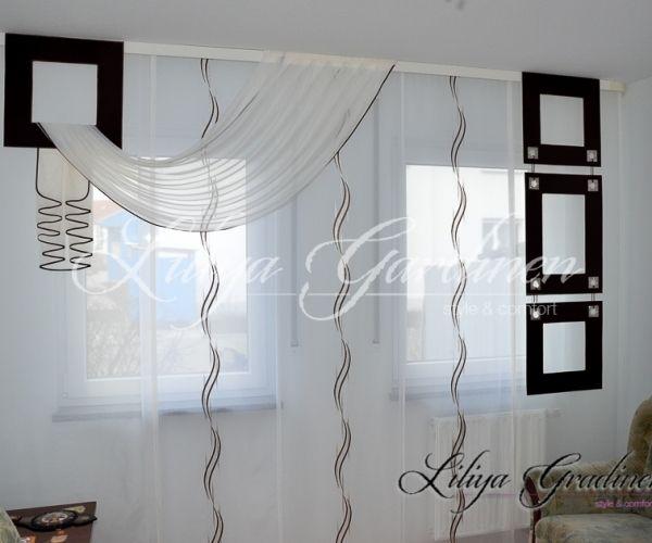 Schiebegardinen Wohnzimmer, schöne wohnzimmer gardinen nach maß ✂ wir gestallten ihr fenster, Design ideen