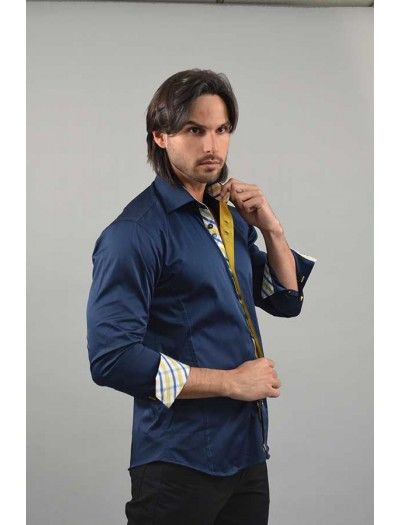 Do you want high end luxury? When you put on a Via Uomo men's fashion shirt from www.FashionMenswear.com and www.GiovanniMarquez.com, you will feel the #luxury. #viauomo #menswear #fashion #mensshirts #mensclothing #fashionmenswear #follow