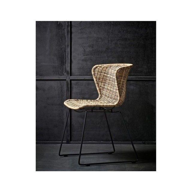 Lot de 2 chaises indoor/outdoor résine tressé Wings Pinterest