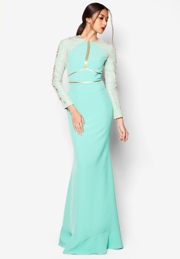 Buy Jovian Mandagie for Zalora Art Deco Afria Dress | ZALORA ...