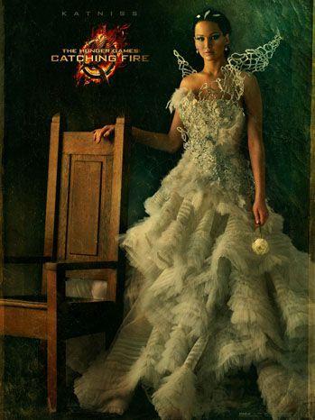 Katniss Everdeen En El Cartel De En Llamas Peliculas Juegos Del