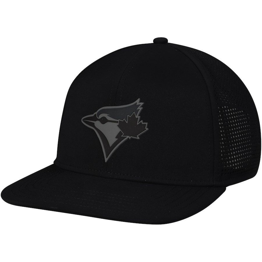buy online d2a10 503d7 Men s Toronto Blue Jays Under Armour Black Supervent Performance Team Logo  Adjustable Hat, Your Price   34.99
