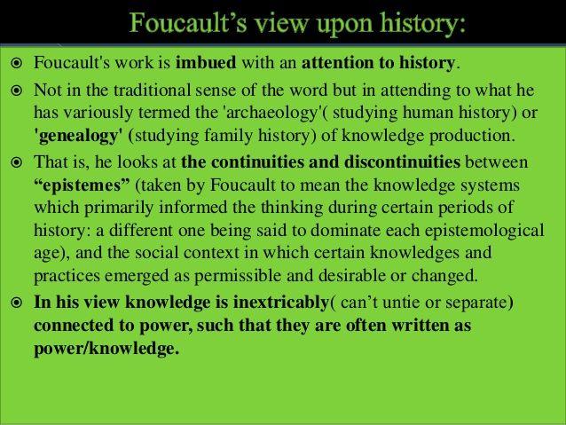 Foucauldian Discourse Analysis Analysis Family History Words