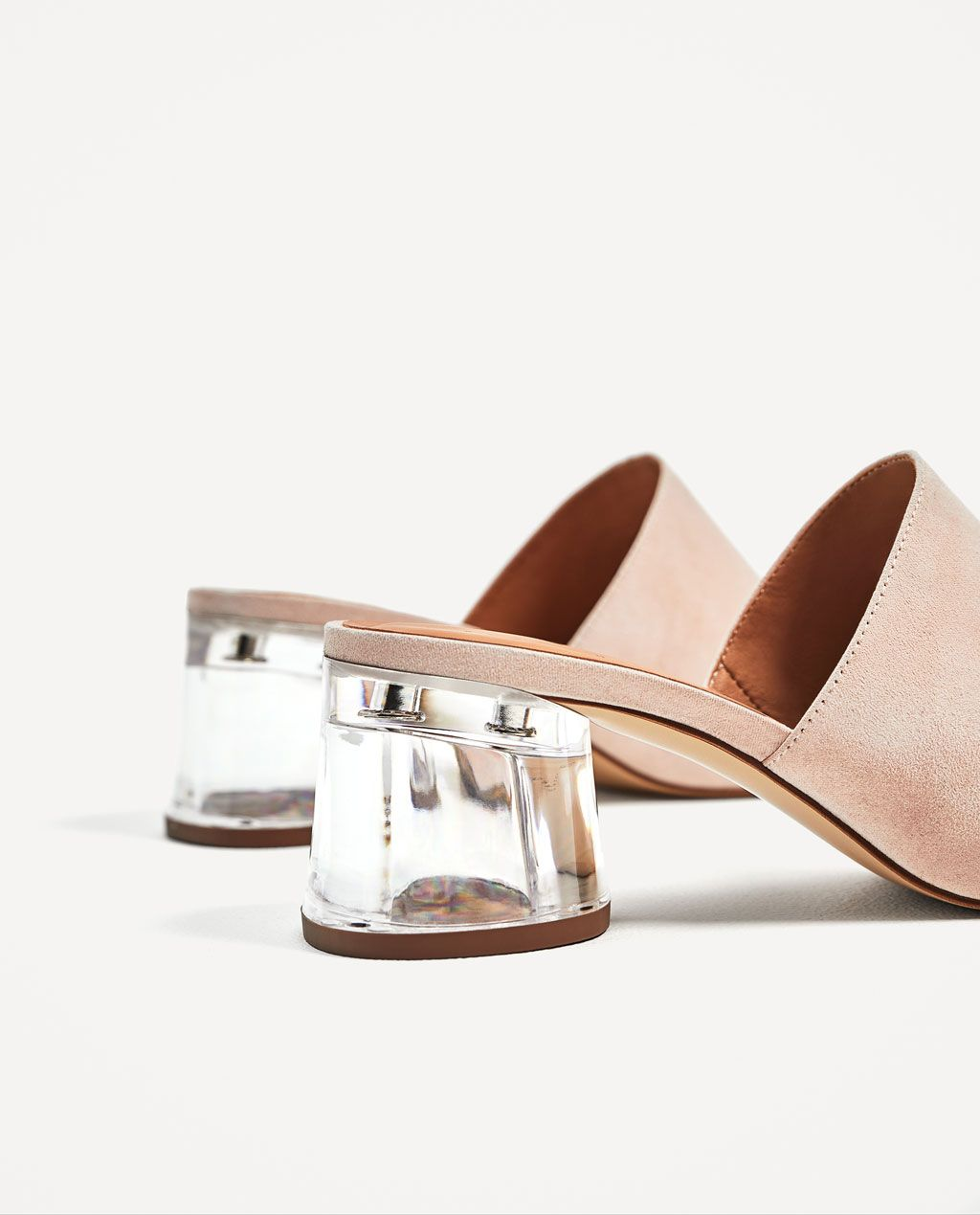 f0edfbc841b Image 5 of MULES WITH METHACRYLATE HEEL from Zara
