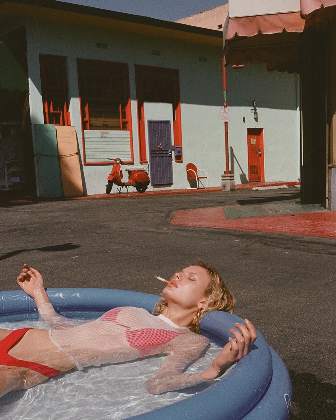 Vibrant Fashion and Glamour Film Photography by Jason Lee Parry #retroideas