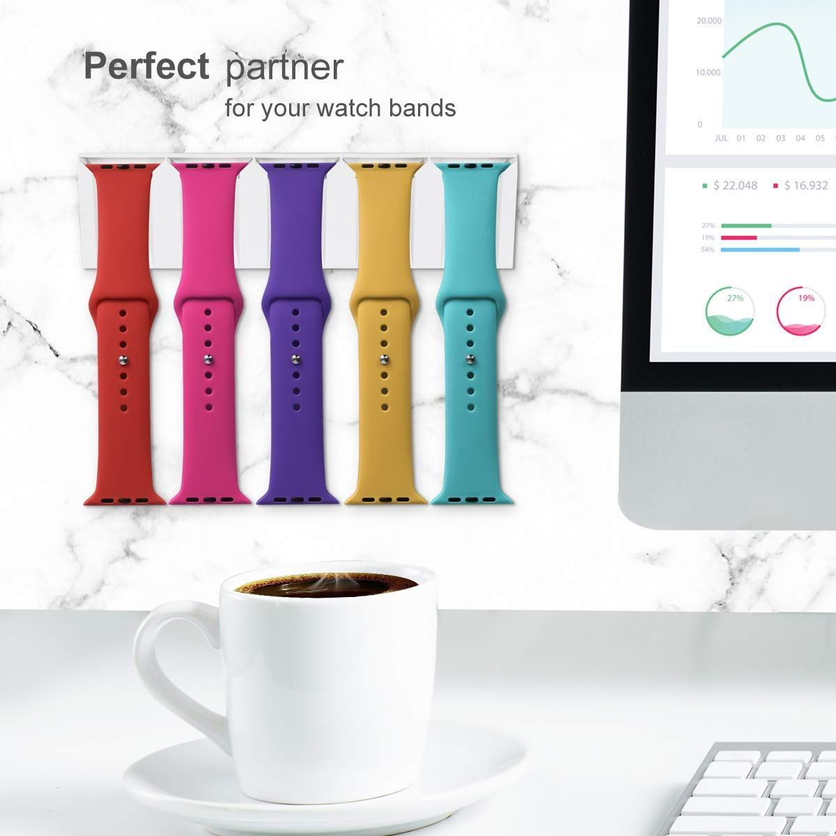 Apple Watch Bands Storage Perfect Partner For 5 Bands One Band