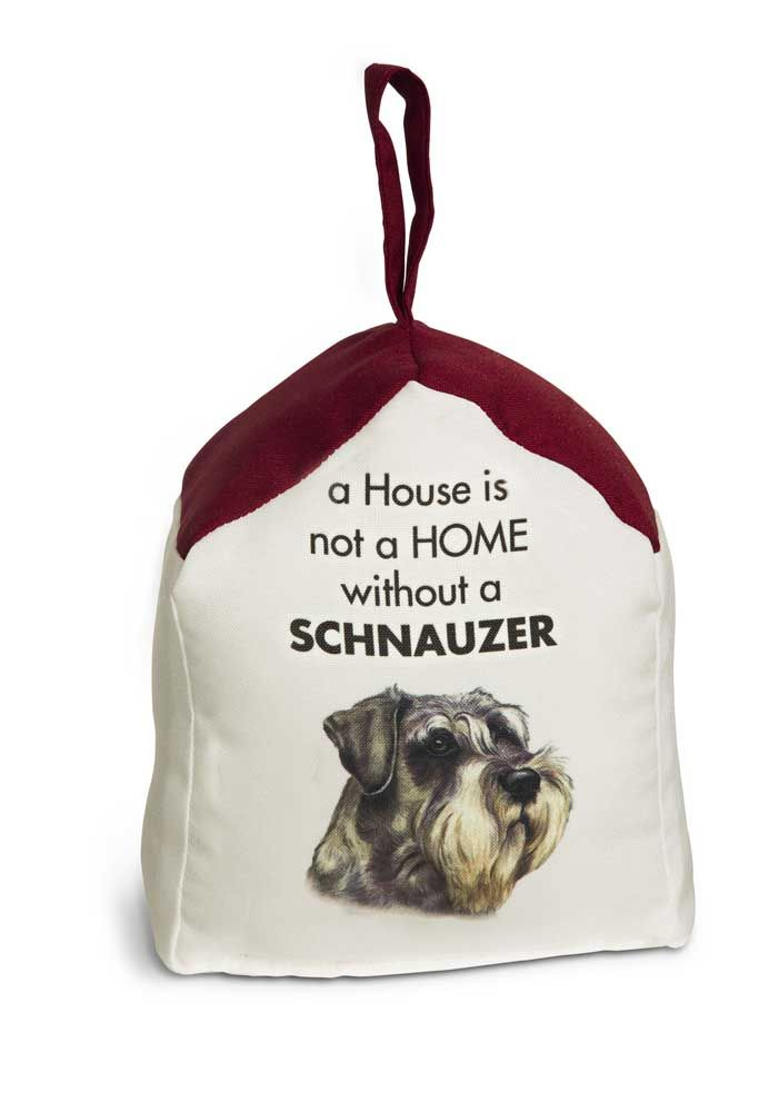 Schnauzer Door Stopper 5 X 6 In 2 Lbs A House Is Not A Home Door Stopper Schnauzer Door Stop