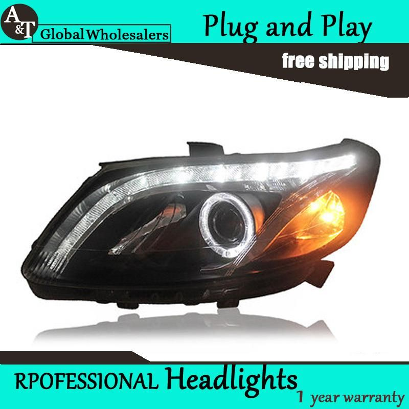 Car Styling For Chevrolet Sail Led Headlight Assembly 2010 2014 Sail