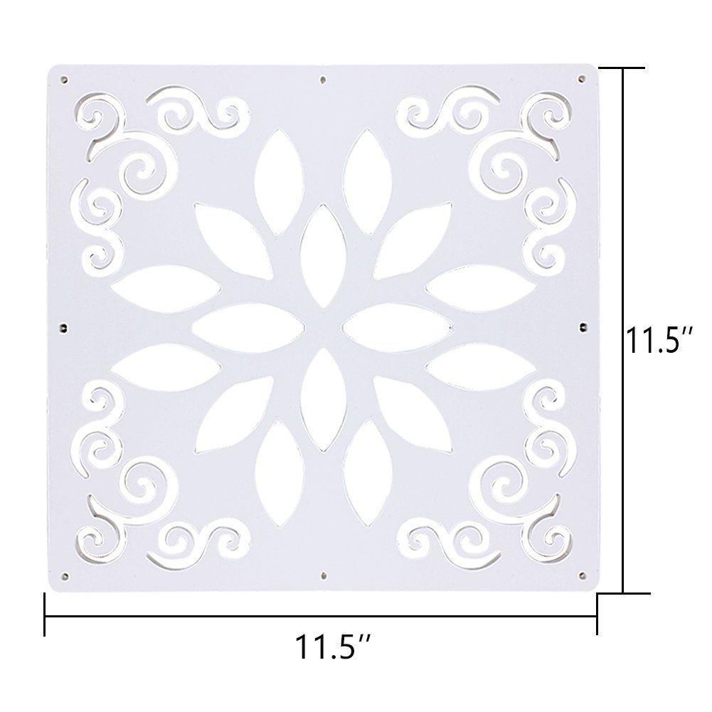 f0ecc0cd7b7 Kernorv DIY Room Divider Partitions Separator Hanging Decorative Panel  Screens 12 PCS Hanging Room Dividers for