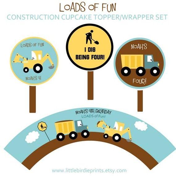 imprimibles camiones | cumple infantil | Pinterest | Leo, Cumple y ...