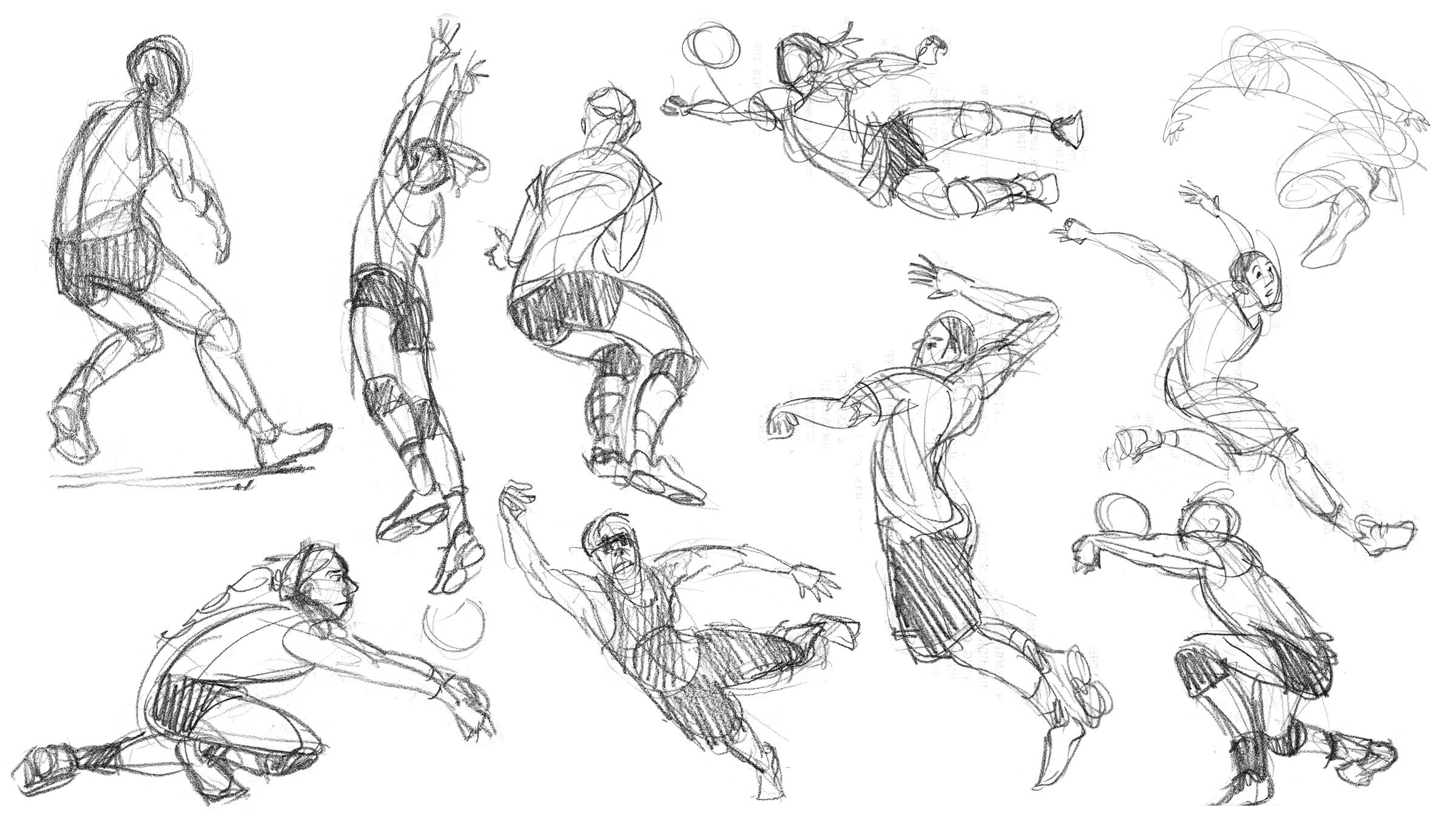 Volleyball Gesture Drawings Gesture Drawing Cartoon Drawings Cartoon Drawings Sketches