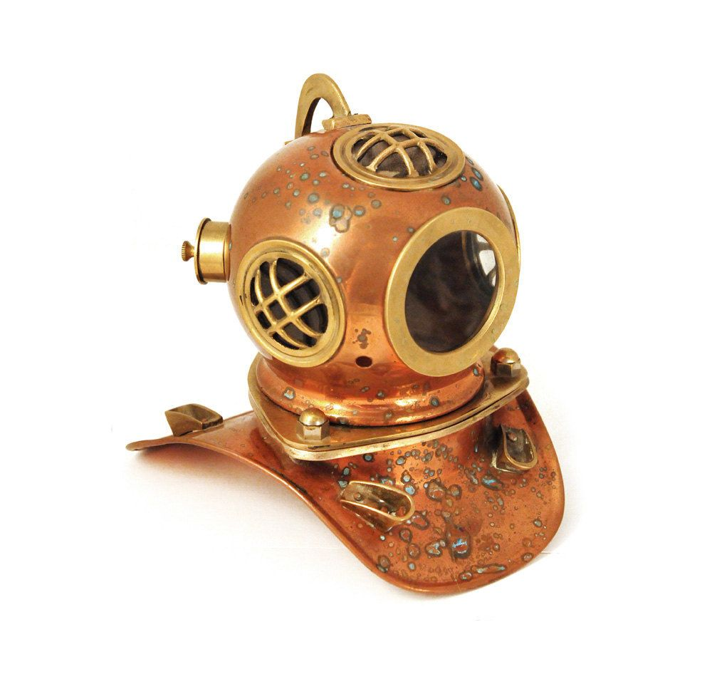 Image result for diving bell helmet