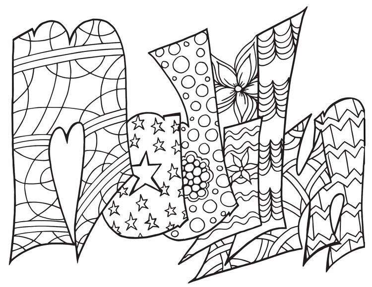 MADILYN Free Coloring Page Free coloring pages, Name