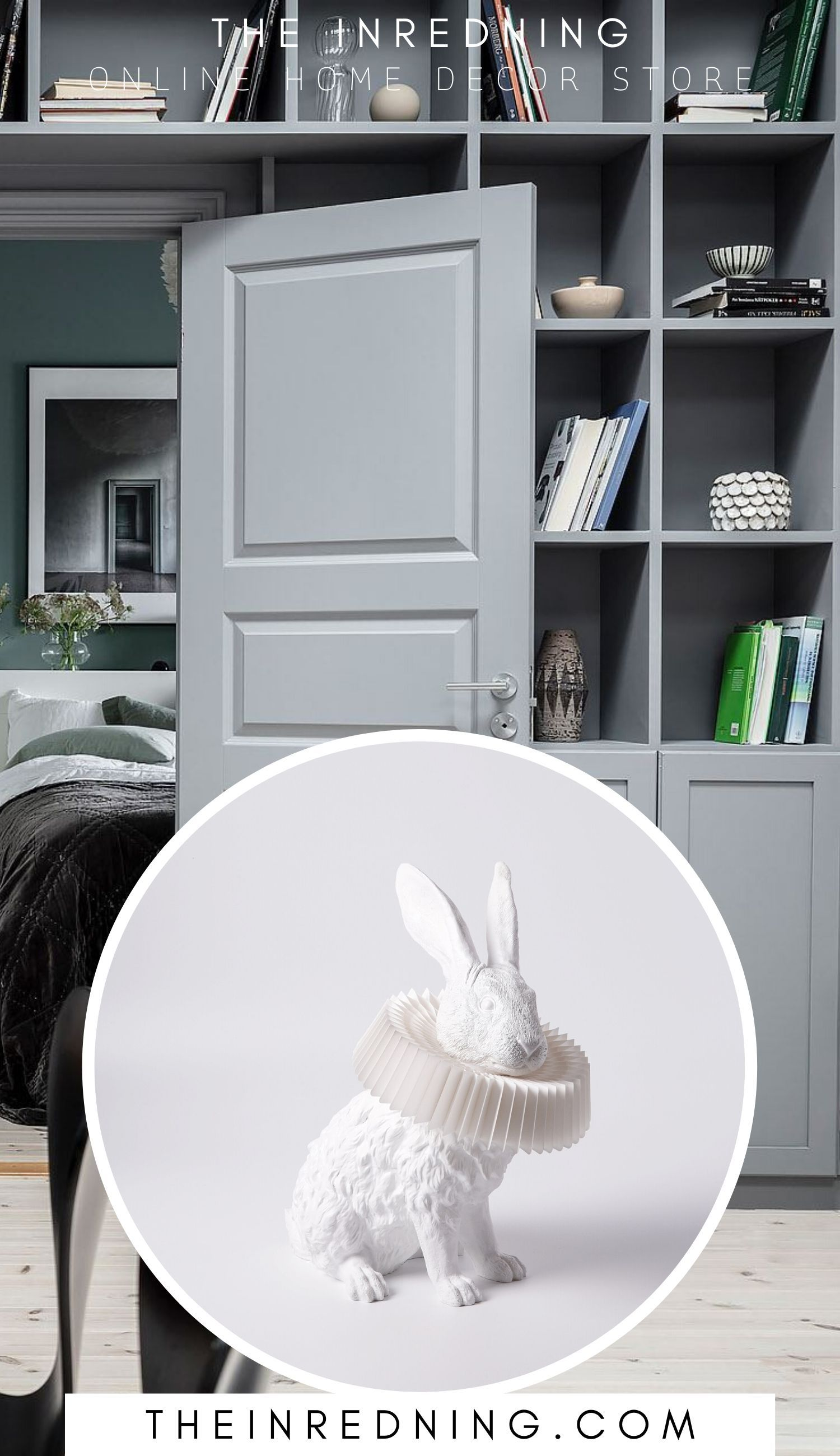 Hasenlampe Mit Deko Skulptur Fur Wohnzimmer Schlafzimmer Kinderzimmer In 2020