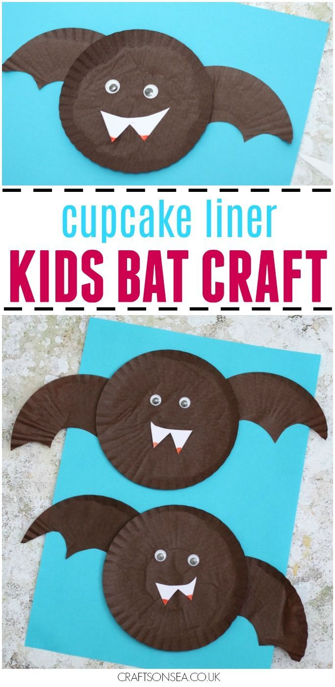 cupcake liner bat craft for kids kids bat cupcake liners and bats