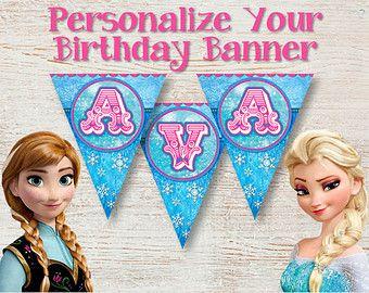 free frozen printable banner