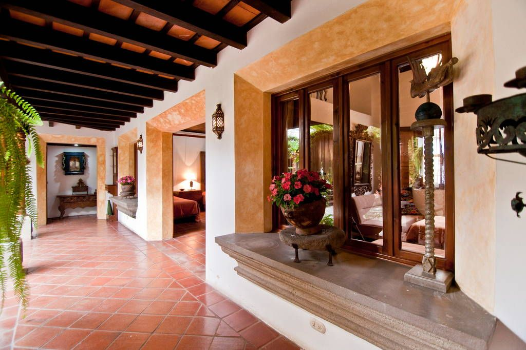 Check out this awesome listing on airbnb casa colibri for Casas rusticas interiores