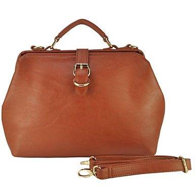 Vintage Doctor Bag Women Messenger Bags