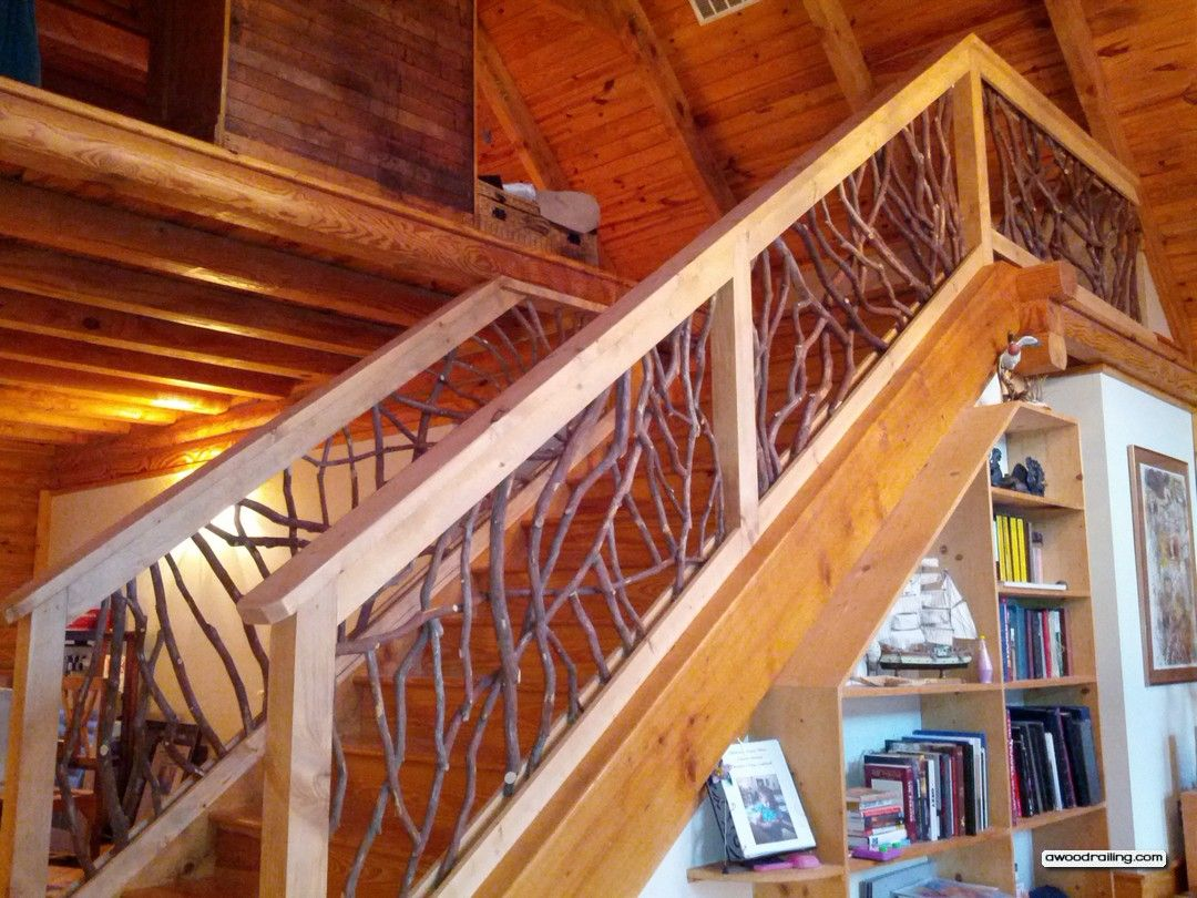 Stair Railing Ideas Better Than Imagined Interior Balcony And Stair Wood Railing Stairs