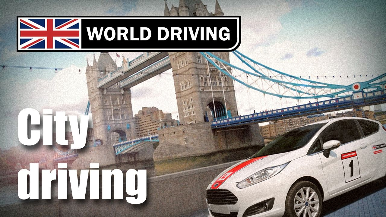 Clutch control in the town/city driving lesson Learning