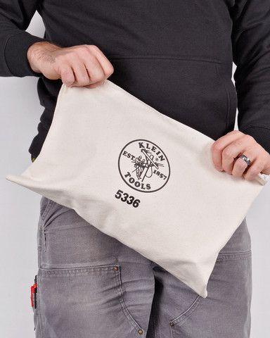 Klein Tools 17 Canvas Zipper Bag