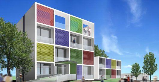 Edificio de Viviendas en Ibiza   08023 Arquitectos - Barcelona   #Arquitectos #Edificio #Viviendas