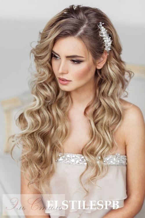 Свадебные прически на длинные волосы - 250 актуальных 41