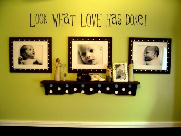 I want to do this in the boys room.. :) so sweet