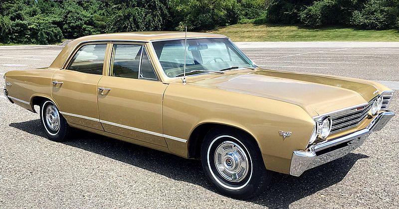 1967 Chevrolet Malibu 42 000 Miles Grenada Gold Fawn