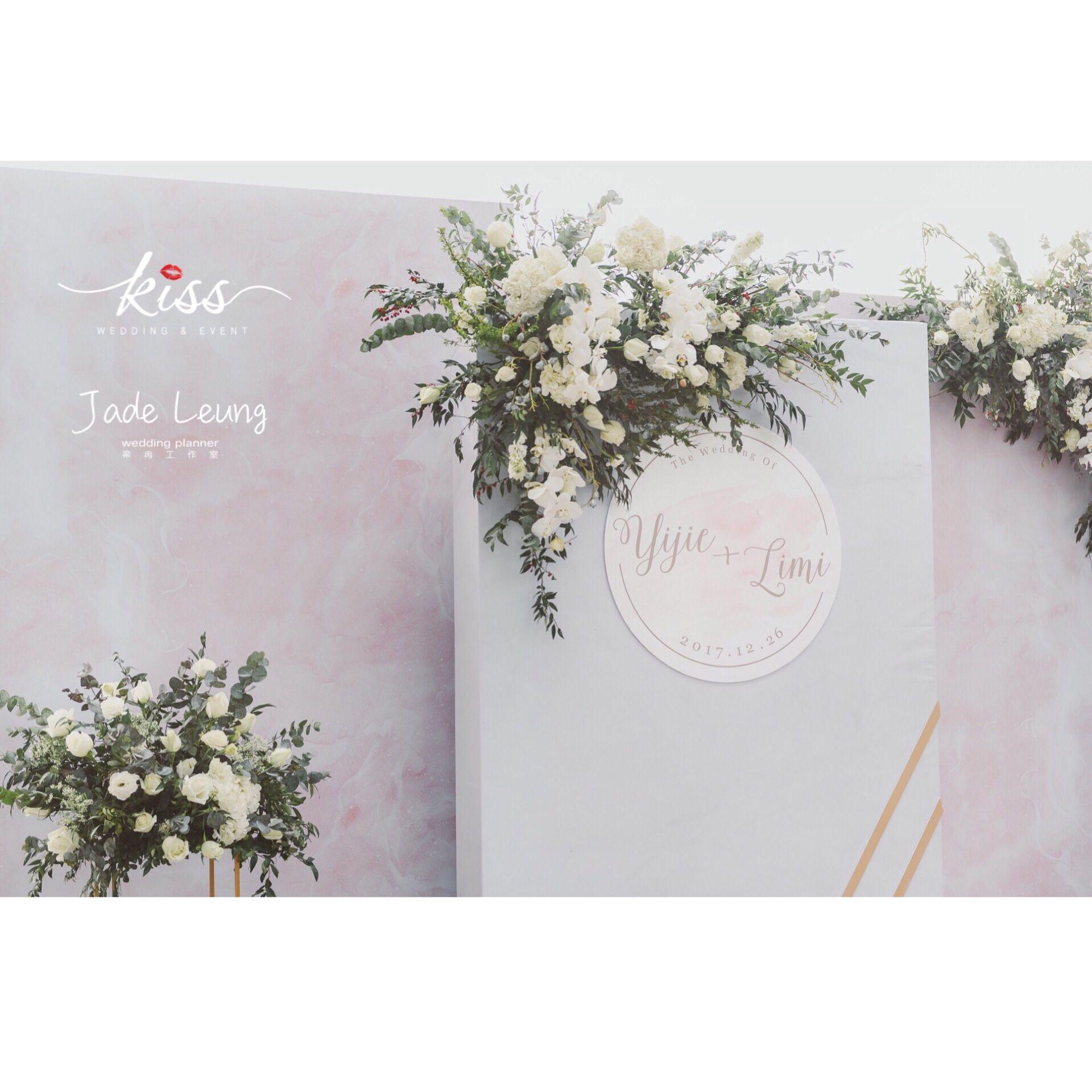 Korean wedding decoration ideas  Jade Leung Studio Wedding Decor  Korean Style Wedding