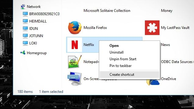 How To Create A Shortcut For Any Modern Windows App Modern