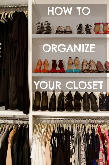 How to organize your closet it s easier than you think for How do you organize your closet