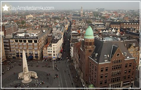At Dam Square Amsterdam Celebration Of Queens Day Holland The Netherlands Pinterest