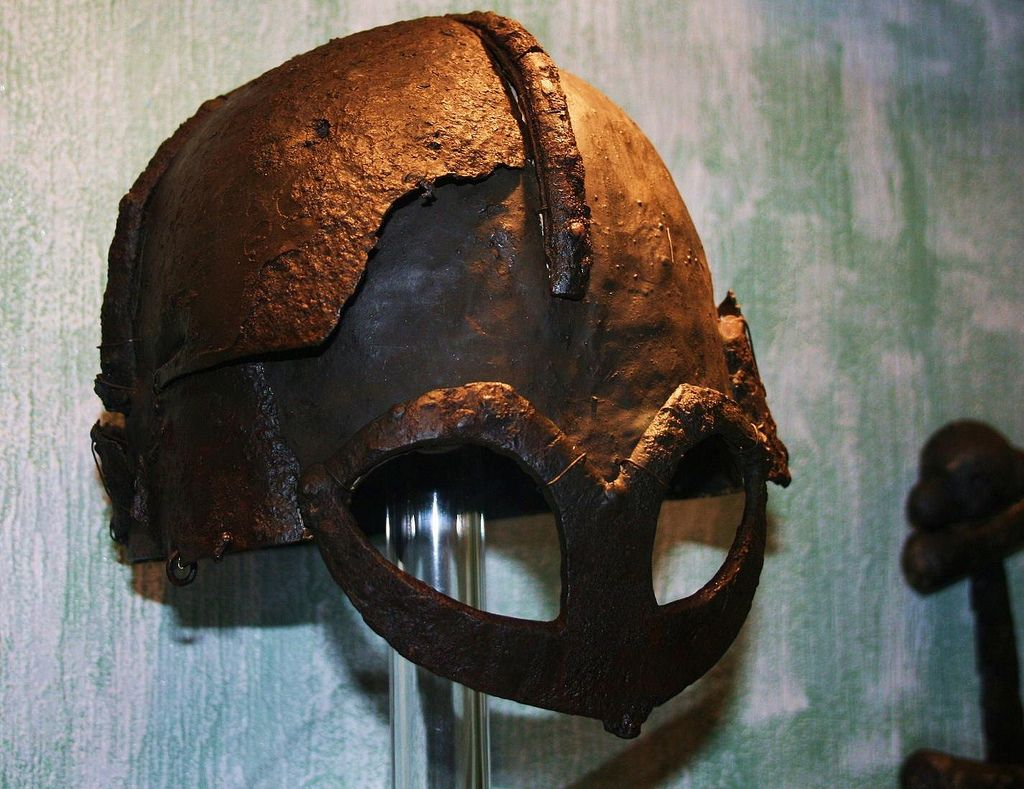 Iron Age Helmet Norway - History Museum Oslo | by saamiblog