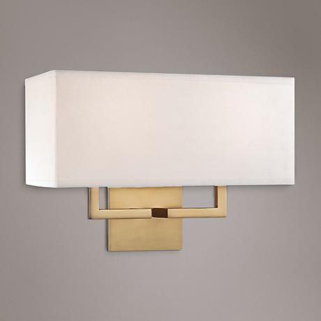 George Kovacs Rectangle 11 High Gold Wall Sconce W1297 Lamps Plus Gold Wall Sconce Wall Sconces Bathroom Wall Sconces George kovacs wall sconces
