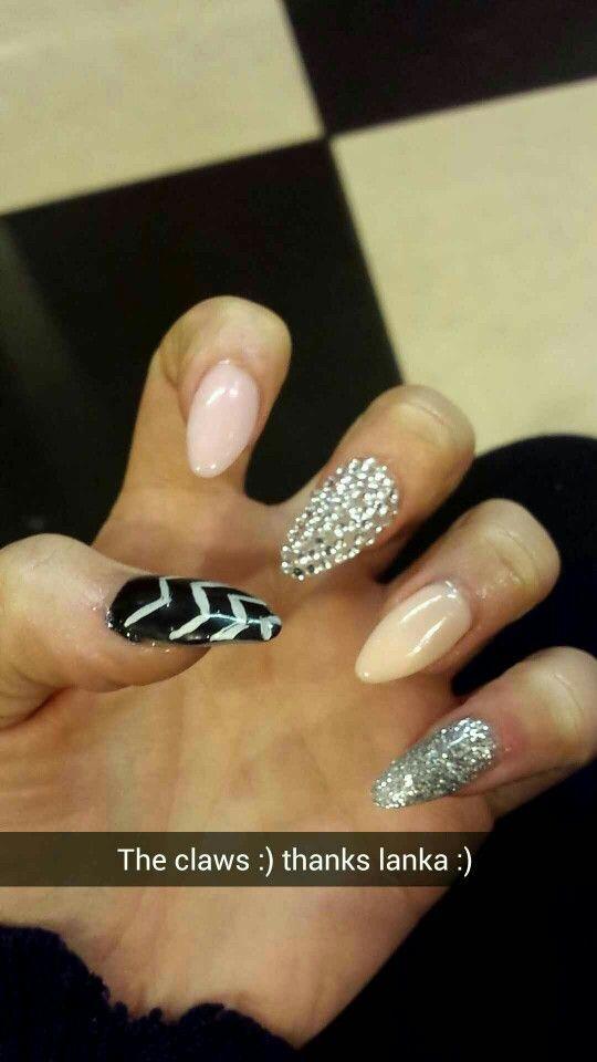 Almond shape gel nails | Nails♢Nails♢Nails | Pinterest | Nail nail