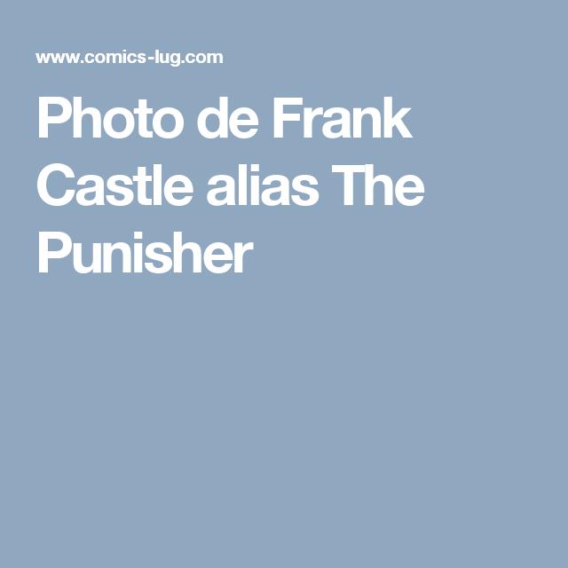 Photo de Frank Castle alias The Punisher