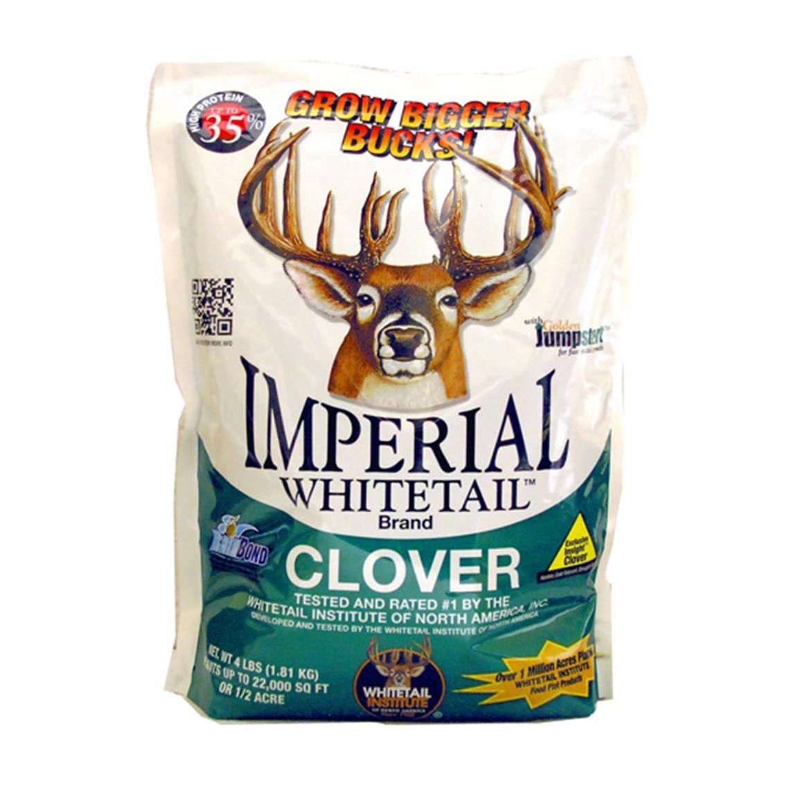Whitetail institute imperial whitetail clover seed 18lb