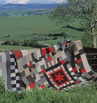 Welsh quilts - such an influence on my hand quilting
