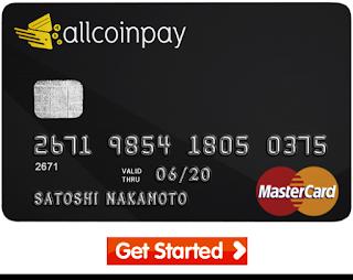 مجانيات احصل الان على بطاقة ماستر كارد Allcoinpay Incoming Call Screenshot Incoming Call Get Started