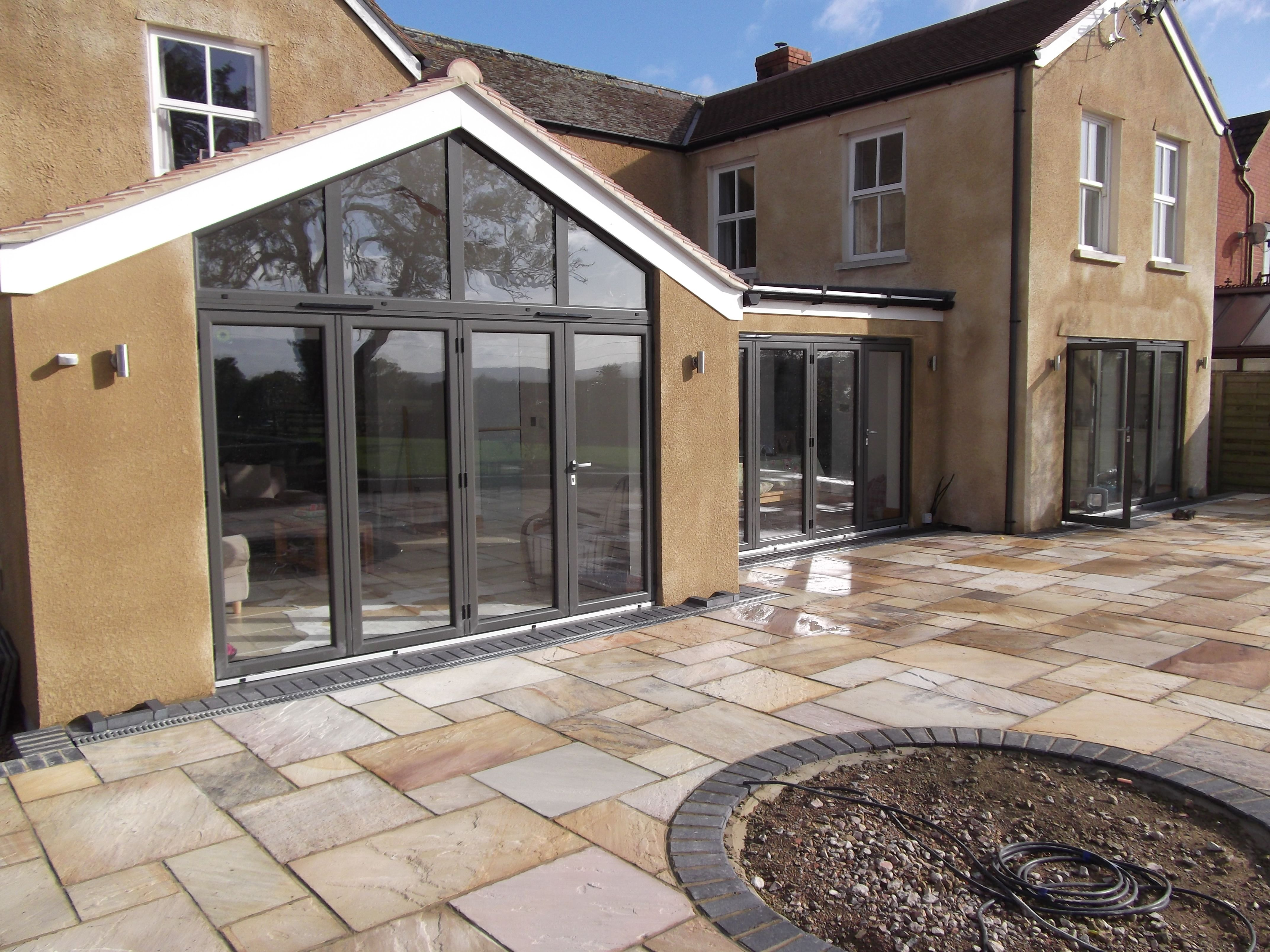 Rear Single Storey Extension With Garden Landscaping