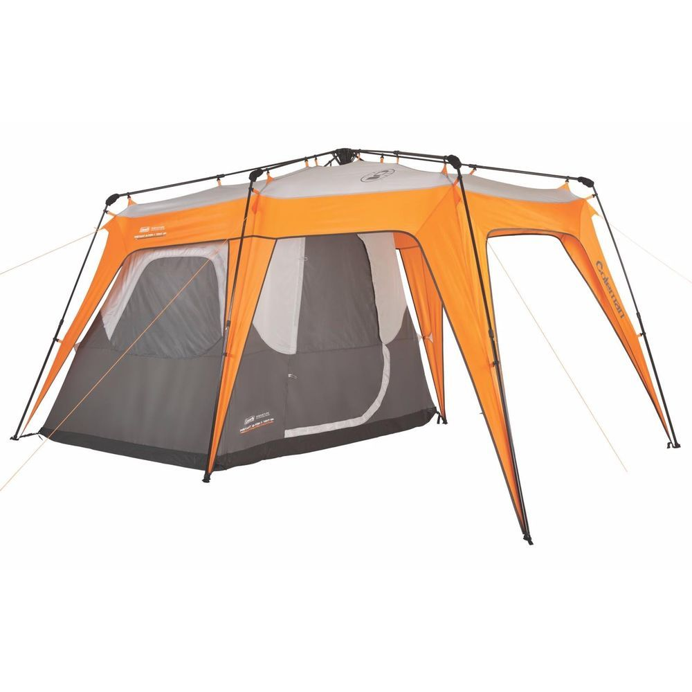 Coleman 2-in-1 4 Person Instant Family C&ing Tent + Shelter w/Porch | 14u0027 x 9u0027  sc 1 st  Pinterest & Coleman 2-in-1 4 Person Instant Family Camping Tent + Shelter w ...