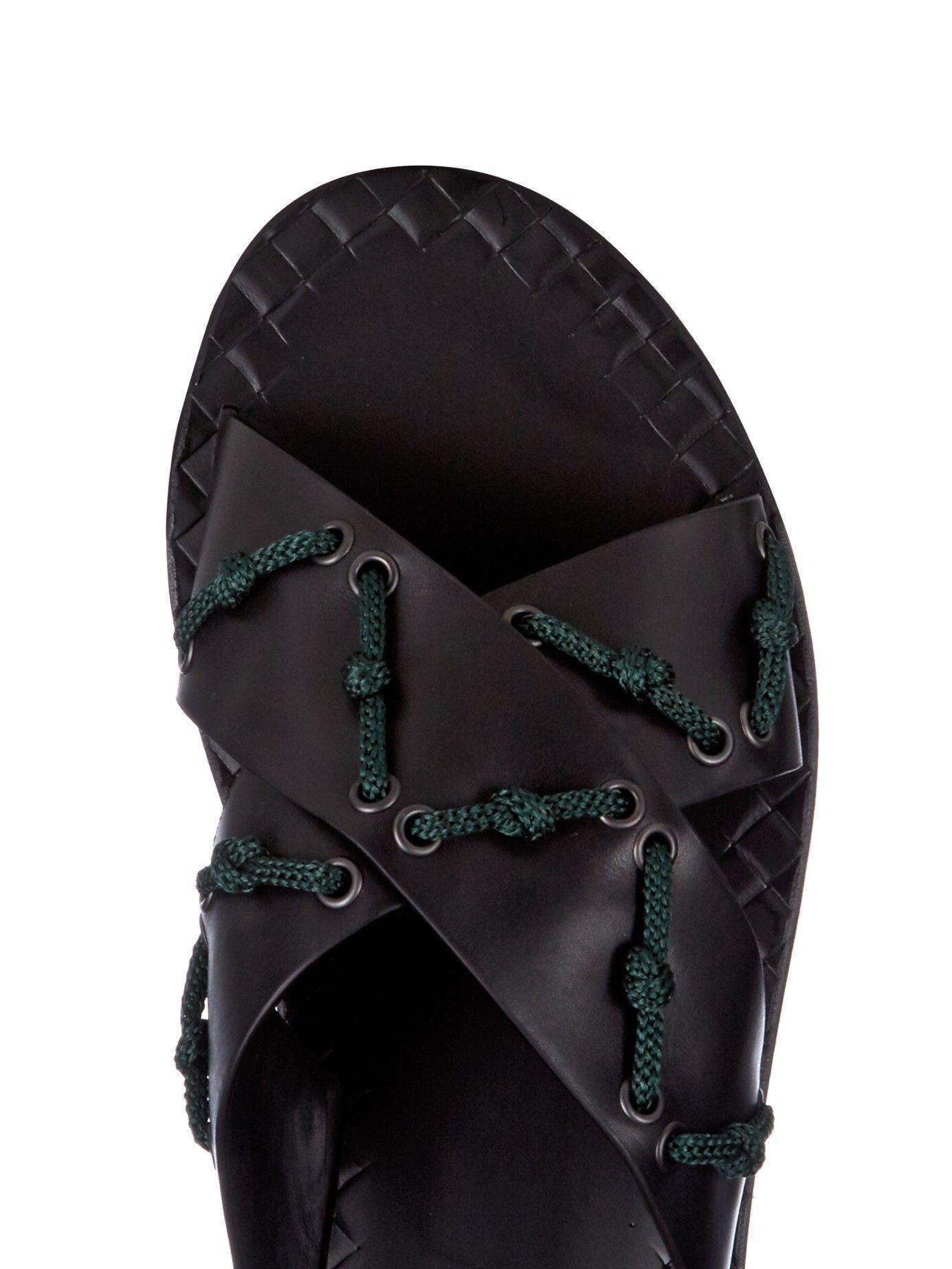 2c461ac02 Rope detail leather sandals | Bottega Veneta | MATCHESFASHION.COM ...
