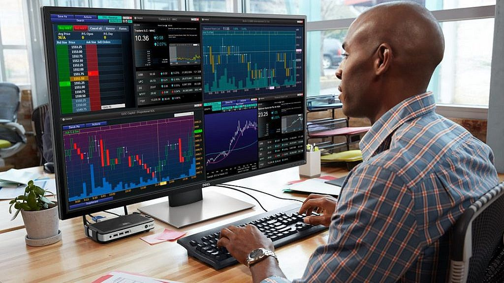 Dell 43 Multi Window Monitor Gives You 4 Screens In 1 Monitor